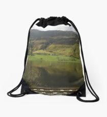 Lough Finn, Ireland Drawstring Bag