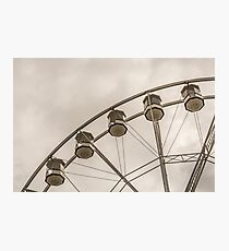 Gondola Ride 1 Photographic Print