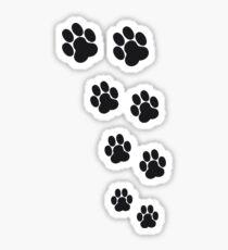 Animal Footsteps Sticker
