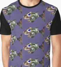 Happy Fish  Graphic T-Shirt