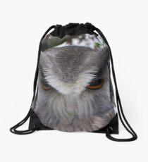 Owl Eyes Drawstring Bag