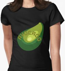 AVOCADO FRUIT  Women's Fitted T-Shirt