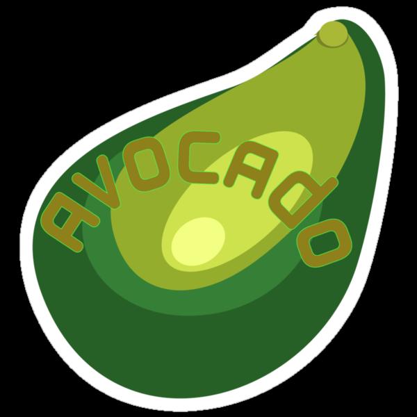 AVOCADO FRUIT  by SofiaYoushi