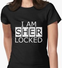 I am SHERLOCKED n.2 Women's Fitted T-Shirt