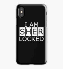 I am SHERLOCKED n.2 iPhone Case/Skin