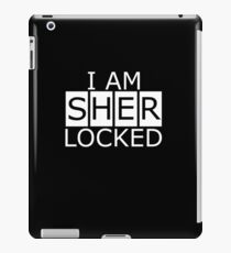 I am SHERLOCKED n.2 iPad Case/Skin