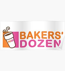 Phish - Baker's Dozen - Madison Square Garden Poster