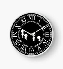 Forest Spirits Clock