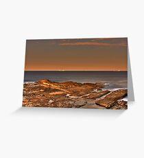 Sci Fi Rock Shelf Greeting Card