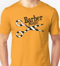 Barber Magic - black and white T-Shirt