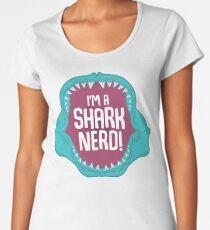 I'm a Shark Nerd! Women's Premium T-Shirt