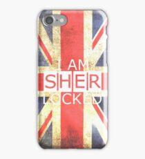 I am SHERLOCKED - Union Jack iPhone Case/Skin