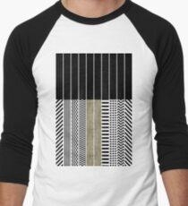 Patterns Men's Baseball ¾ T-Shirt
