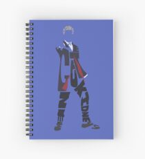 12th Doctor Spiral Notebook