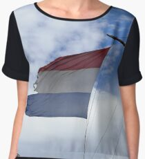 Netherlands Women's Chiffon Top