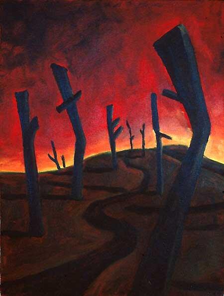 Demented Path by Wyn Richards