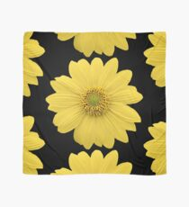 Yellow Flower Petals Scarf
