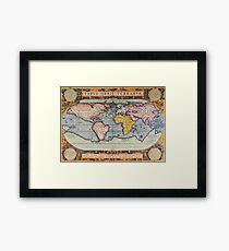 Antique World Framed Print
