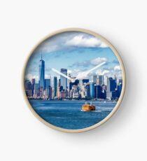 New York and Staten Island Ferry Clock