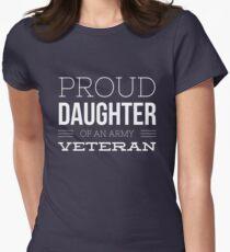 Proud daughter of an army Veteran T-Shirt