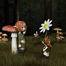 Goblin Valentine's Day in the Forest by algoldesigns