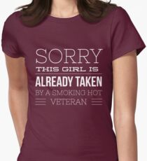 This girl is taken by a Veteran T-Shirt