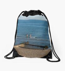 Seafront Lensbaby Drawstring Bag