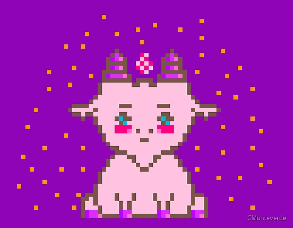 Pastel Goat  by CMonteverde