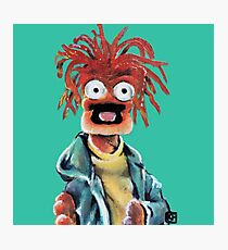 Pepe The King Prawn Fan Art  Photographic Print