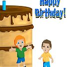 Big Cake Card by Shannon McLean
