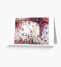 Continent Greeting Card