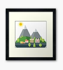 Going to the Mountains is going home Framed Print