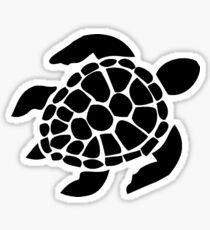 Black Sea Turtle Sticker