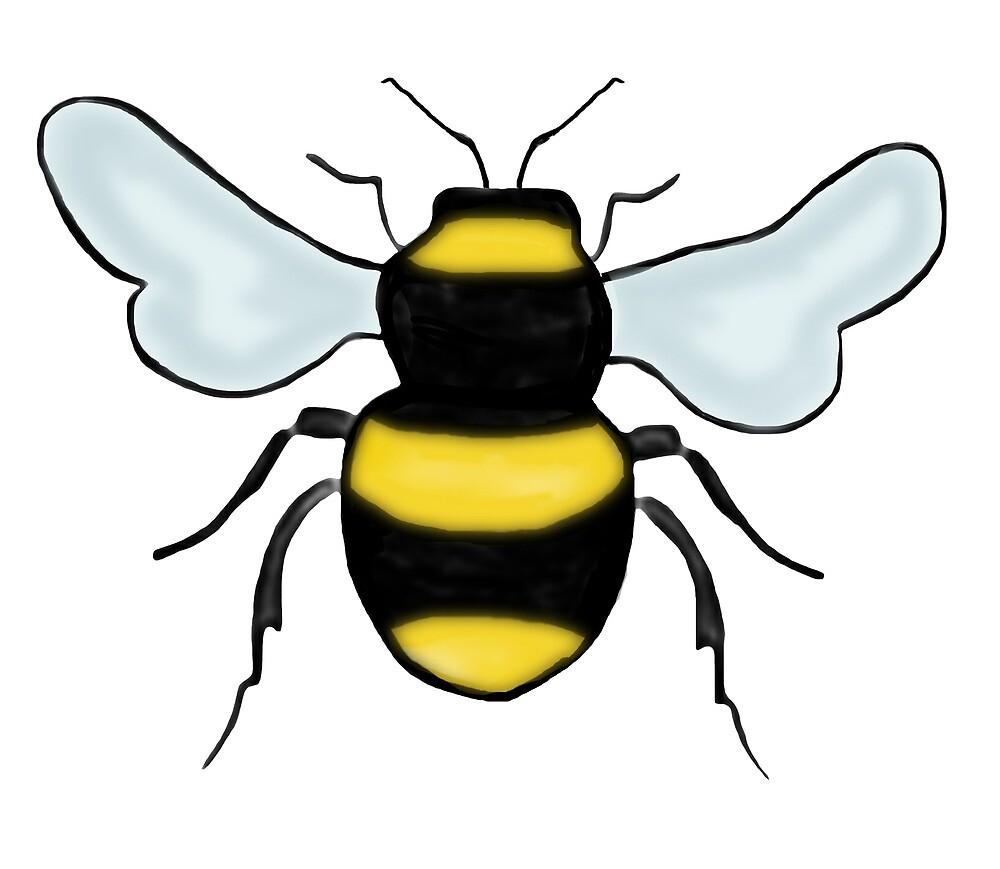 Bee Logo by juxtapositionuk