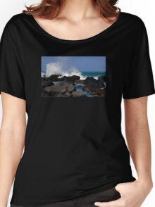 Causeway Waves Women's Relaxed Fit T-Shirt