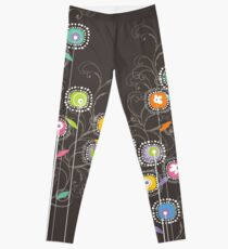 My Groovy Flower Garden Grows II Leggings