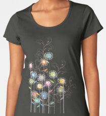 My Groovy Flower Garden Grows II Women's Premium T-Shirt
