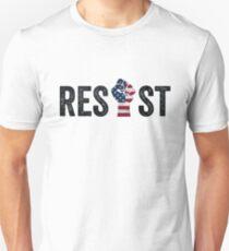 Resist Fist Anti Trump Democracy  T-Shirt