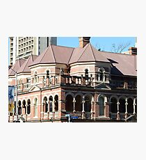Romanesque architecture in Brisbane Photographic Print