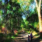 The Bush Walk. by Gareth Chalklen