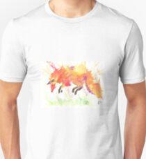 Watercolour Fox T-Shirt