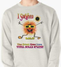 Funny I Survived The Great American Solar Eclipse Pullover