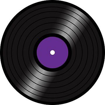 Vinyl LP(purple center version) by nealdepinto