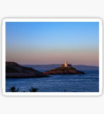 Lighthouse in Mumbles Sticker