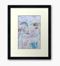 colorful science Framed Print