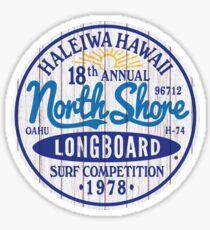 North Shore Surfboards Sticker