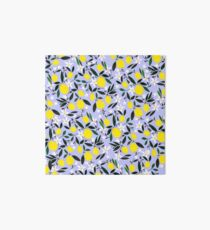 Lemons Blue Art Board