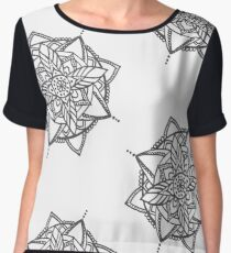 Mandala Flower Women's Chiffon Top