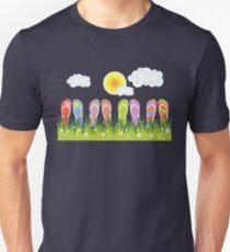 Flip Flops Having Fun In The Sun T-Shirt