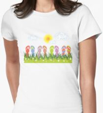 Flip Flops Having Fun In The Sun T-Shirt